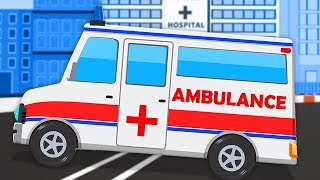 Gambar cover Krankenwagen | Fahrzeug Videos | Ambulance | Kids TV Channel Deutschland | Deutsch Kinderlieder