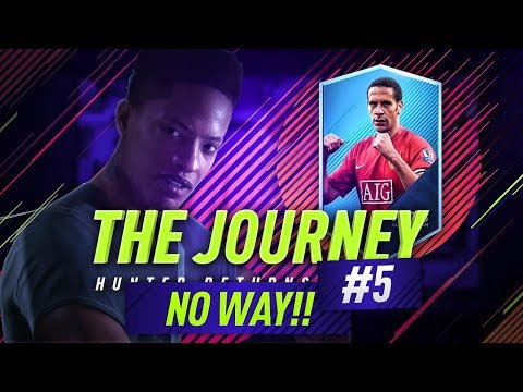 FIFA 18 THE JOURNEY! OH MY GOD!!!