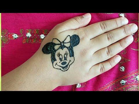 MINNIE MOUSE HENNA/MEHENDI DESIGN FOR KIDS