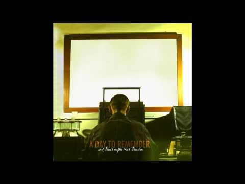 KARAOKE/INSTRUMENTAL - You Should Have Killed Me When You Had The Chance - A Day To Remember