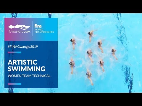Artistic Swimming - Women Team Technical | Top Moments | FINA World Championships 2019 - Gwangju