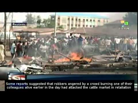 Dozens killed in attack on Nigeria cattle market