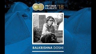2018 الحائز على جائزة بريتزكر Balkrishna دوشي