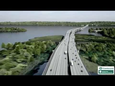 Seattle Floating Bridge: The longest floating bridge in the world