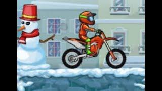 Moto X3M 4: Winter Full Gameplay Walkthrough
