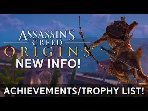 Assassin's Creed Origins | Achievements/Trophy List - POSSIBLE SPOILERS