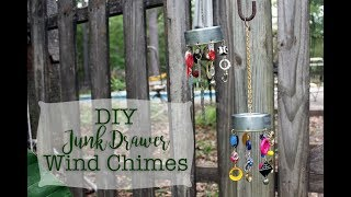 DIY Junk Drawer Wind Chimes
