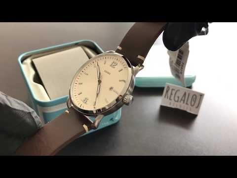 933b2d4d9b8a Reloj FOSSIL Commuter FS5275 - Unboxing FOSSIL Commuter Watch FS5275  (Regaloj)