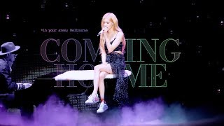 190613 IN YOUR AREA Melbourne Coming Home Solo Stage BLACKPINK ROSÉ 로제 직캠