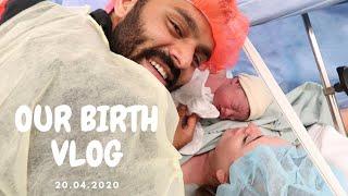 OFFICIAL BIRTH VLOG OḞ BABY SINGH | EMERGENCY LABOUR *EMOTIONAL*