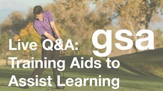 Live Q&A: Training Aids to Assist Learning - Jan 15, 2018