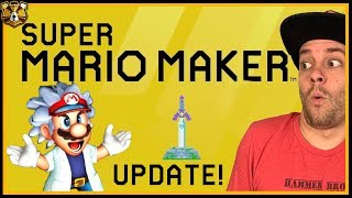 A NEW UPDATE FOR SUPER MARIO MAKER 2!? Time To Break It Down!