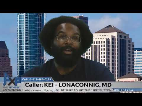 Why African-Americans Associate With Christianity | Kei - Lonaconnig, MD | Atheist Experience 21.32