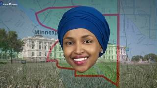 Ilhan Omar, running for Congress in Minnesota