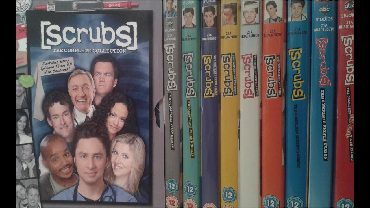 Scrubs The Complete Collection Season 1 9 Dvd Boxset Review