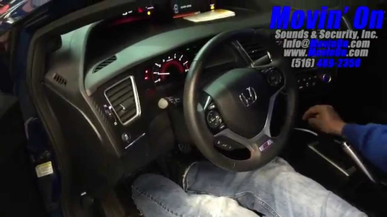 civic si manual transmission remote start viper 5706v youtube rh youtube com remote start on manual transmission car Remote Car Starters Installed