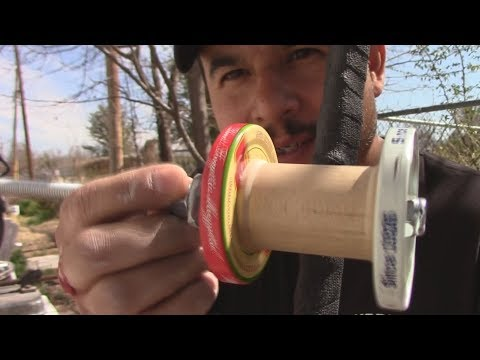 DIY Fishing Rod And Reel Challenge Pt 2- Homemade Fishing Rod And Reel
