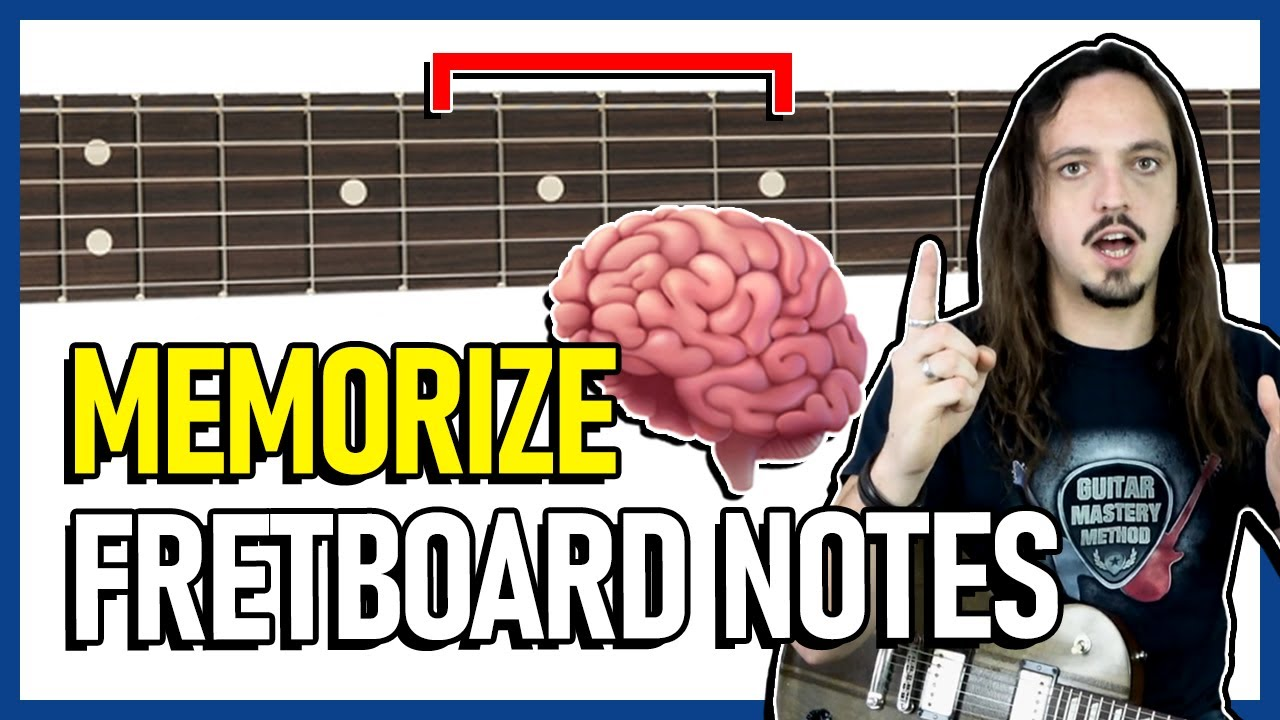 1 Simple Trick to Memorize the Fretboard Notes