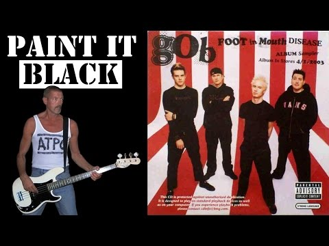 Paint it Black - Gob, free style bass cover