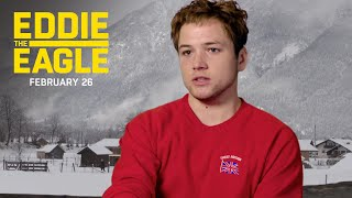 "Eddie the Eagle | ""Never Give Up"" Featurette 