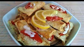 """Очень нежное и вкусное блюдо """"Рыба в лаваше""""! Придётся по вкусу даже самым изысканным гурманам!"""