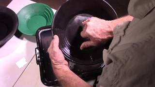 Lesson 28 Tips on Hand Panning Difficult Ores