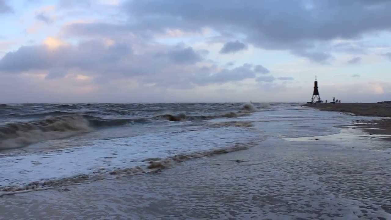28 Oktober 2013 Sturm An Der Nordsee Youtube