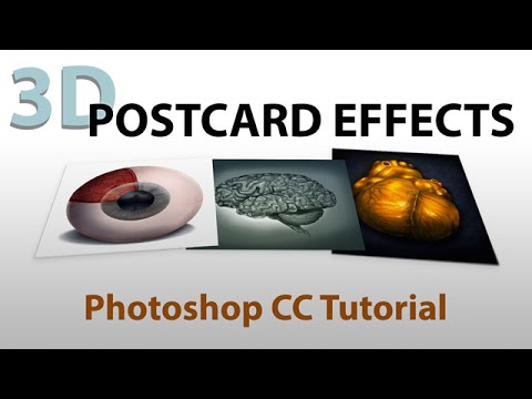 3d Postcard Effects With Photoshop Cc