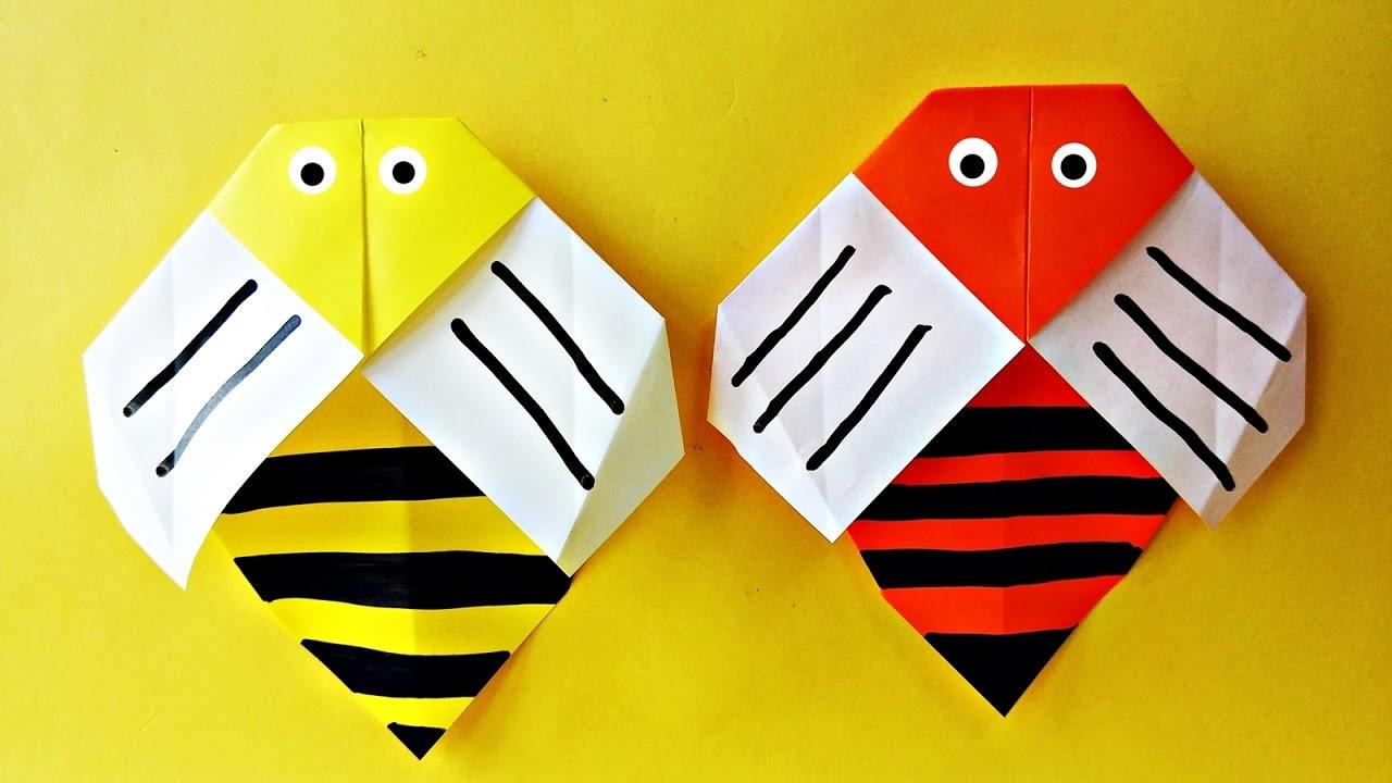 tutorial origami vespa