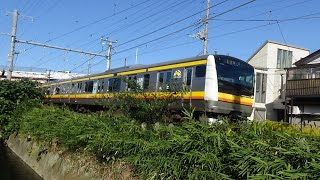 【臨時あり】南武線 列車走行シーン集 485系・E233系8000番台 Nambu Line train running scene collection (temporary)