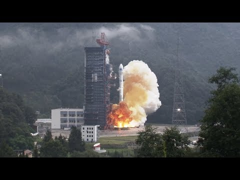 BeiDou-3 satellites launched by Long March-3B