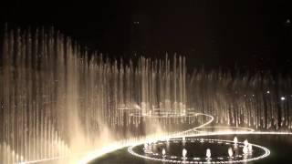 Dubai Burj Khalifa Fountain HD  3D