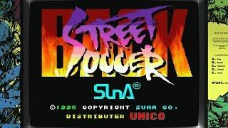 Back Street Soccer [Arcade][HD-Gameplay 60 FPS]
