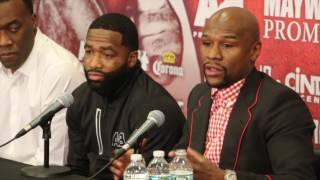 FLOYD MAYWEATHER & ADRIEN BRONER - FULL & UNCUT PRESS CONFERENCE (CONTAINS VERY STRONG LANGUAGE)