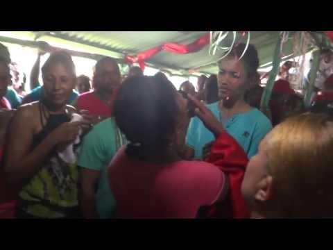 Fiesta de Palos a San Miguel en Las Tlas, Bani, 290913