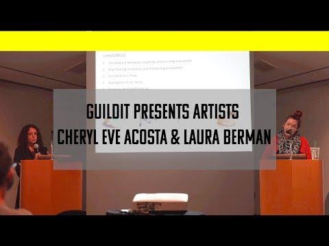 GUILDit Presents Artists Cheryl Eve Acosta & Laura Berman