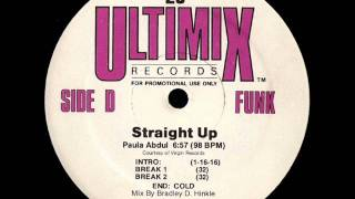 Paula Abdul - Straight Up (Ultimix) (Mix By Bradley D. Hinkle) (Audio Only) (HQ)