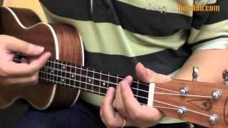 Học đàn Ukulele Bài 8 - Điệu Slow Rock - Đệm hát em ơi Hà Nội phố