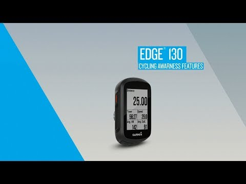 Edge 130: Cycling Awareness Features