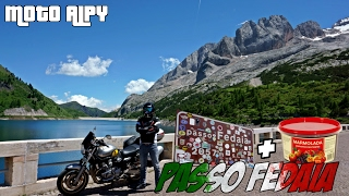 Moto Alpy – Passo Fedaia