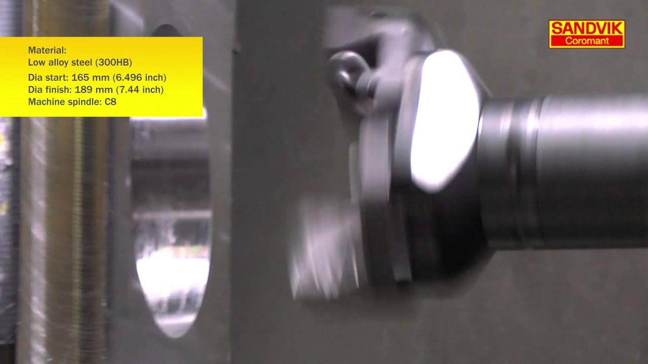 CoroBore® 820 XL with CoroDrill® 880 insert - Sandvik Coromant