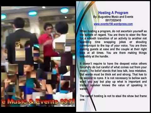 Wedding Emcee Philippines Mario Lupato Youtube