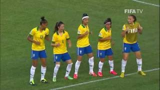 China v. Brazil, Canada 2014 HIGHLIGHTS