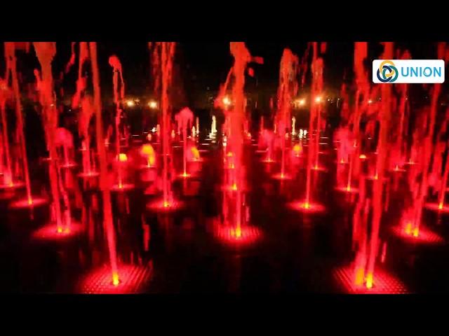 Sàn phun nước theo nhạc, Đài phun nước âm sàn | Union JSCO