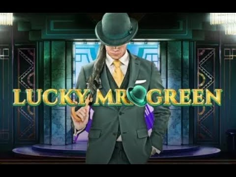 Super Big Wins on the New Lucky Mr Green Online Slot from Red Tiger Gaming