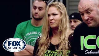 Ronda Rousey chooses first fight - TUF 18