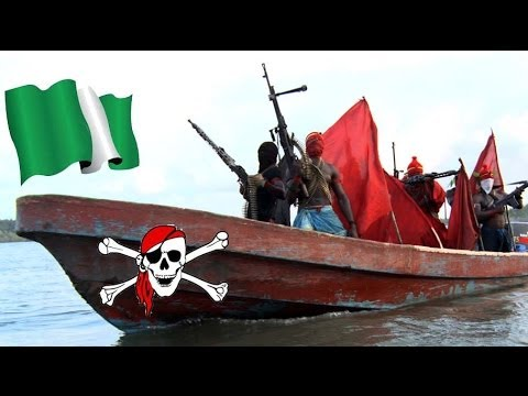 Nigerian pirates kidnap two American oil workers