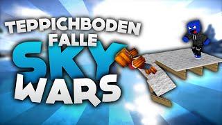 Teppichboden FALLE! - Minecraft Sky Wars! | DieBuddiesZocken