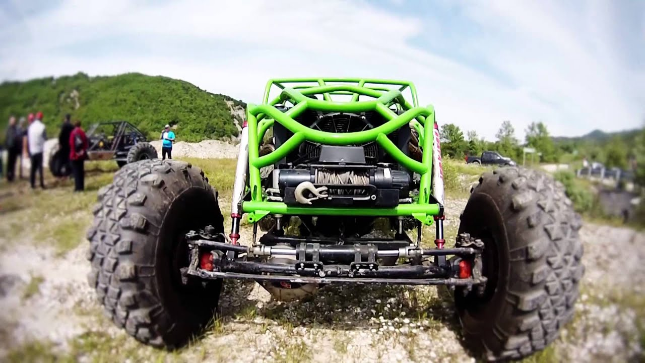Rock Bouncer For Sale >> rock crawler buggy walk around - YouTube