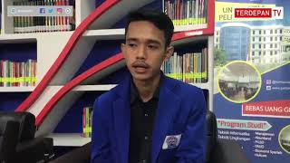 Ketua BEM Febis UPB Webminar Bersama Bawaslu RI